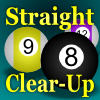 Straight Clear-Up (Pool/Billiards)